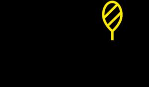 grafika: logo Akademii Tenisa Niewidomych i Słabowidzących